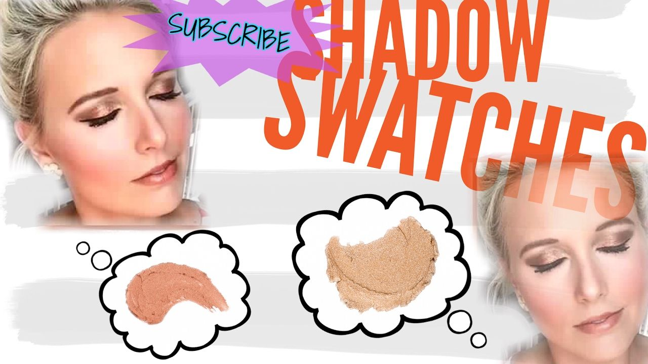 ..SHADOW SWATCHES.. - YouTube