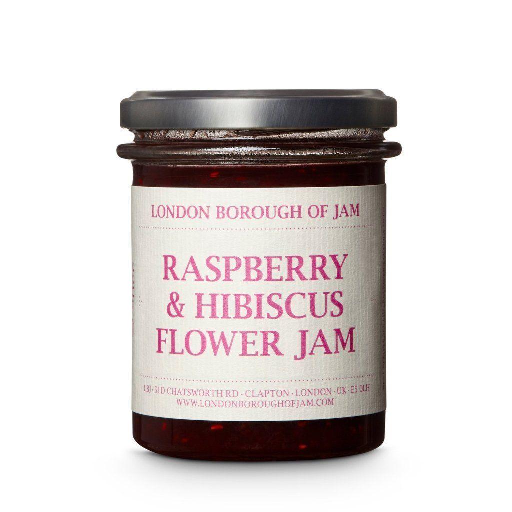 Lbj Raspberry Hibiscus Flower Jam 220g Jam Hibiscus Flowers Raspberry