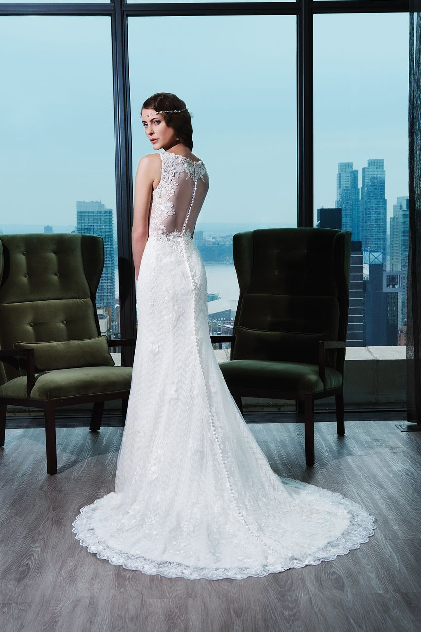 Wedding gown by Justin Alexander Signature
