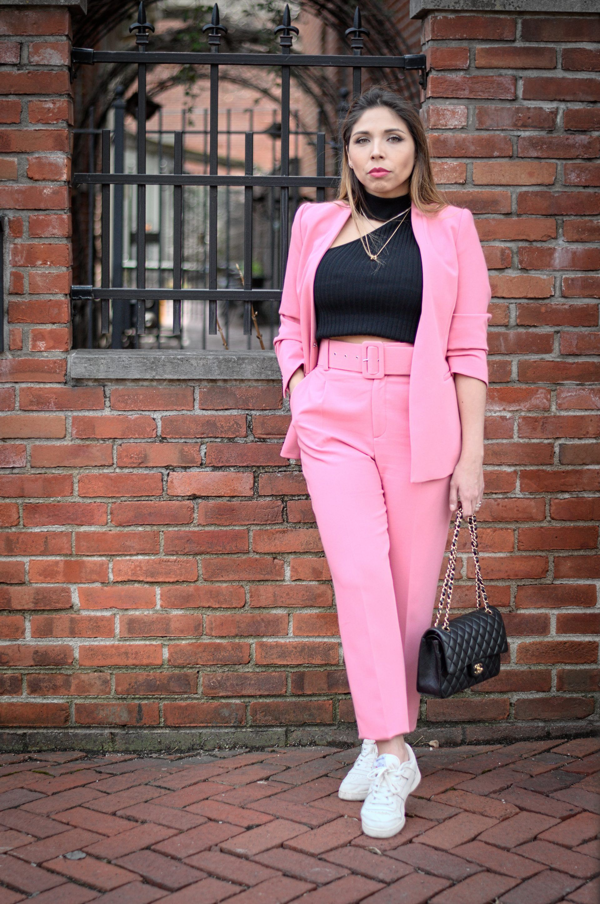 9c04cb7e Pink suit, zara suit Think Pink « Couture & Law | Coutureandlaw in ...