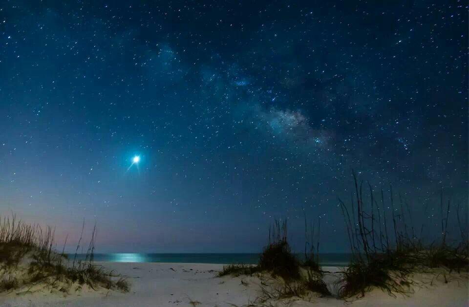 Venus Beach Florida >> Venus Shining Early In The Morning On Pensacola Beach Fl