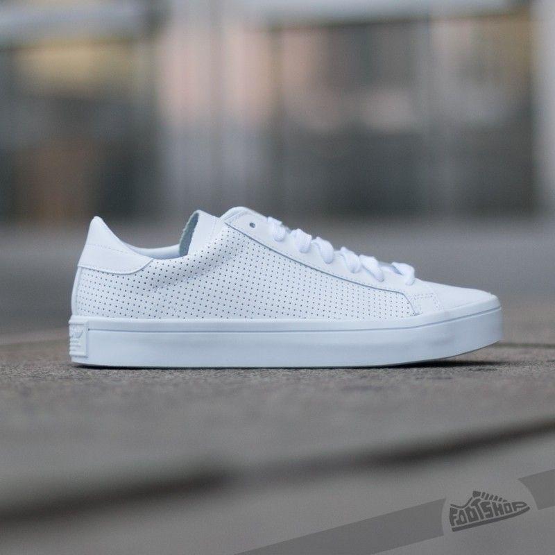 Adidas Court Vantage Ftw White Ftw White Core Black Footshop Sneakers Mode Adidas Sneaker Weiss Weisse Sneaker Herren