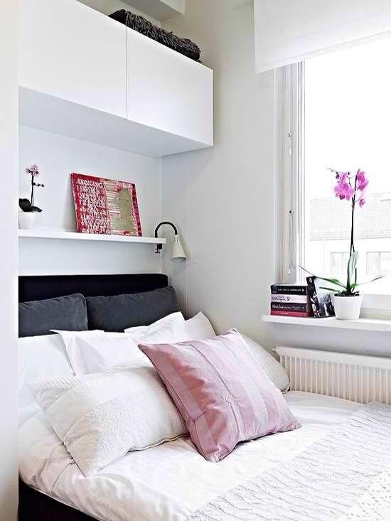 Recamara Pequeña Creative Ideas Pinterest Bedroom Bedroom Delectable Small Bedroom Layout Creative Property