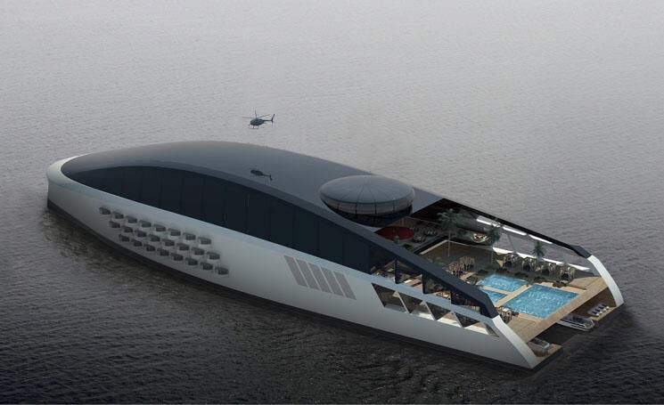 Yacht 77M - XR - Evolution Concept Black Version