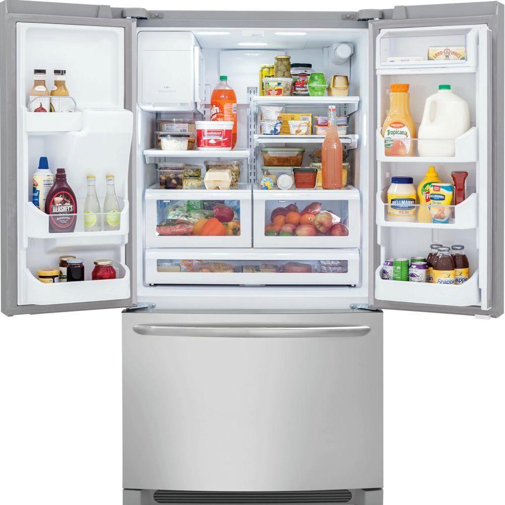 Frigidaire Gallery 21 93 Cu Ft French Door Refrigerator In