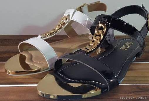 63fde319 Sandalias planas primavera verano 2018 -Sucre | Zapalook - Moda en Zapatos  2018