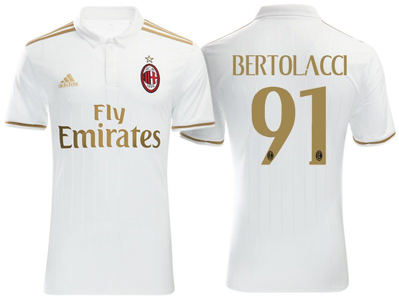 Terza Maglia AC Milan ANDREA BERTOLACCI
