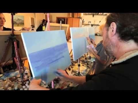Fehler aufstrebenden Künstlern Eine Welle im Meer Landschaft 1