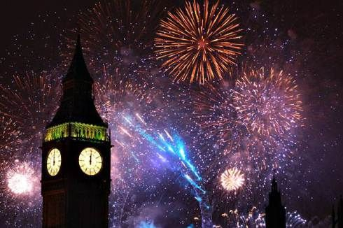 guy fawkes london fireworks