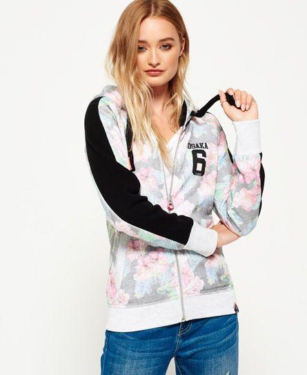 wholesale dealer 34bec dc05e Superdry Osaka 6 Kapuzenjacke mit tropischem Print #jackets ...