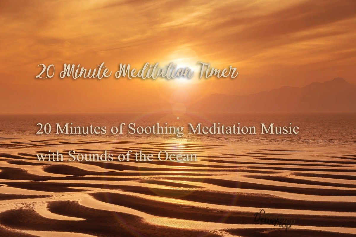 20 Minute Meditation Music with Tibetan Bell Timer