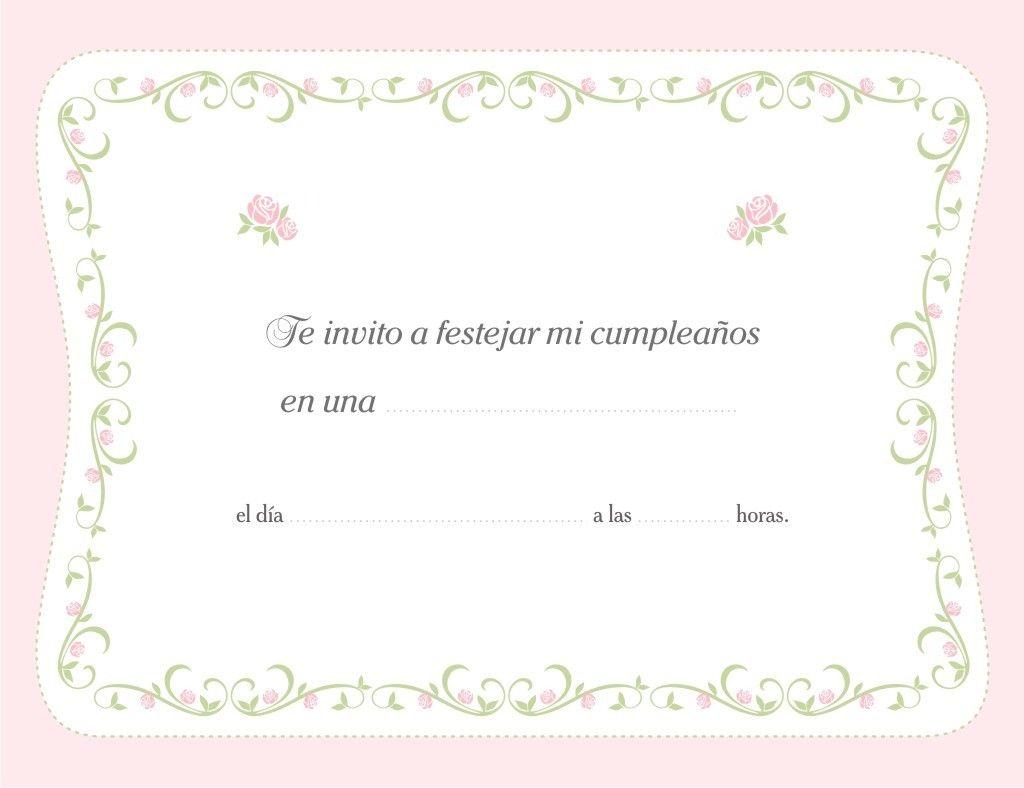 Invitaciones De Cumpleaños Adultos Para Descargar Gratis 14