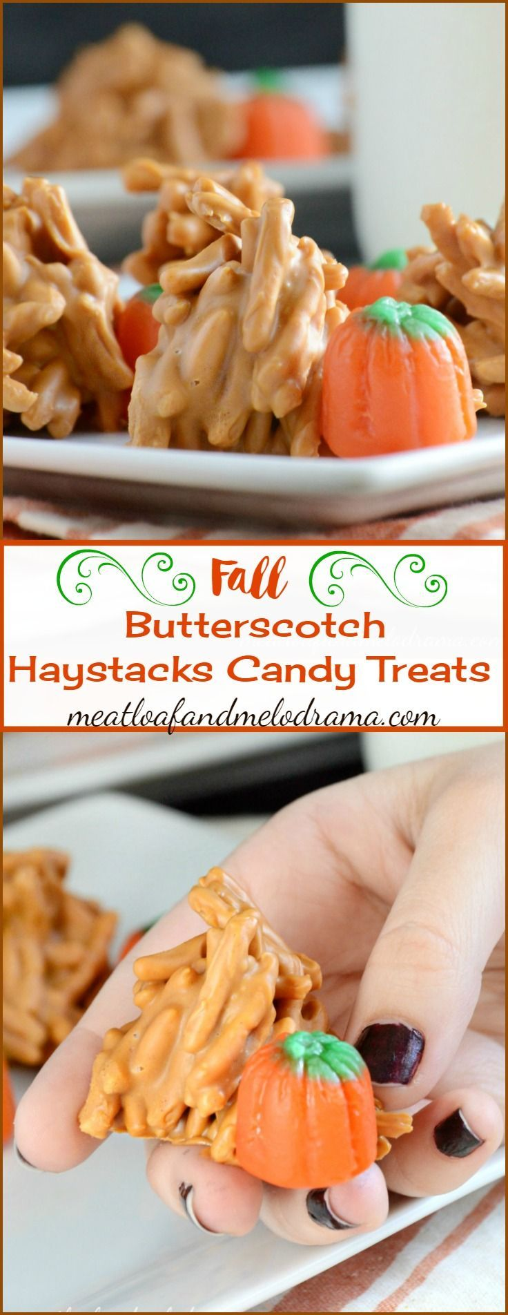 Butterscotch Haystacks Candy Treats - Meatloaf and Melodrama