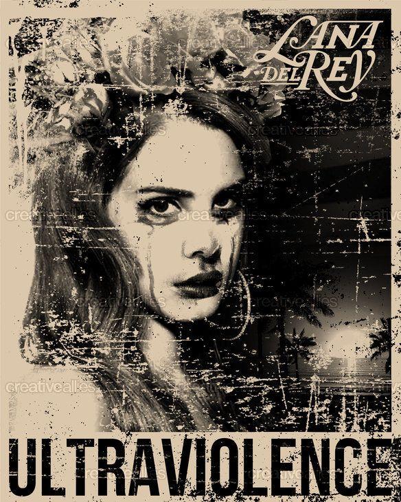 Lana Del Rey Poster By Diegoflower Ssw Wolle Kaufen Projekte