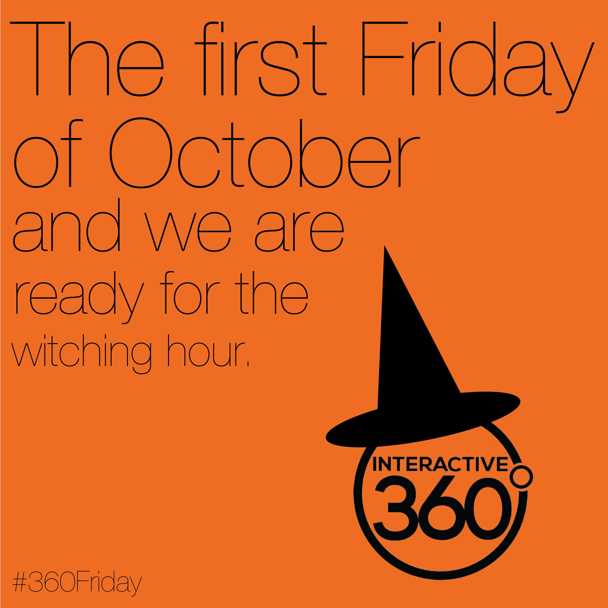 It's Friday in October and we are ready for the witching