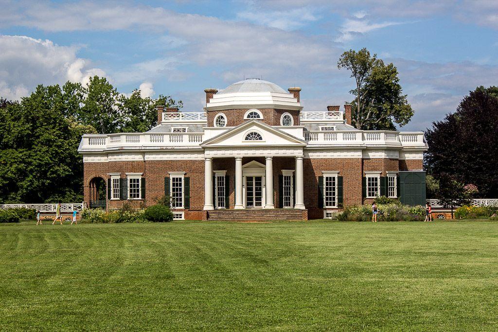 Thomas Jefferson S House Monticello Virginia Mansions