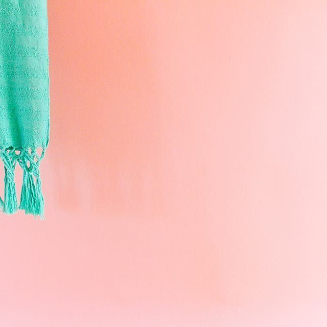 Rebozo de algodón reciclado tejido en el telar industrial de Artesanías…