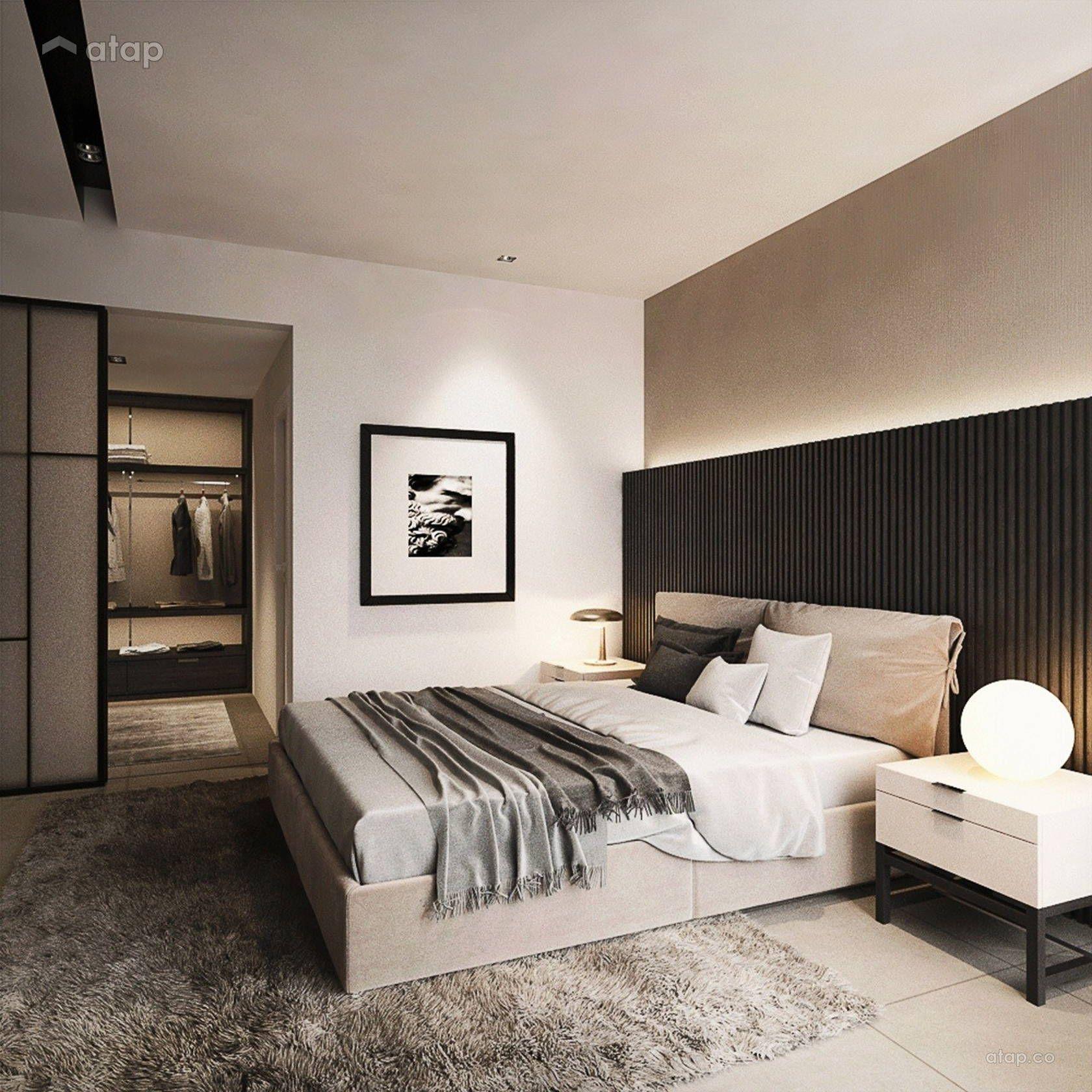 Contemporary Bedroom @ URBAN  Master bedroom design, Bedroom