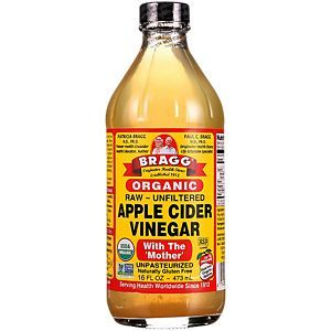Organic Apple Cider Vinegar with the Mother - Raw, Unfiltered (16 Fluid Ounces) #applecidervinegarbenefits