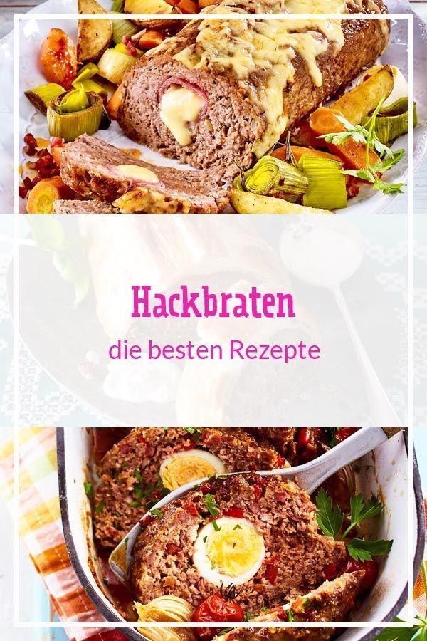 Hackbraten - die besten Rezepte   LECKER