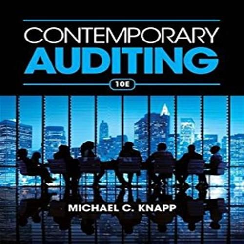 Solution manual for contemporary auditing 10th edition by knapp solution manual for contemporary auditing 10th edition by knapp fandeluxe