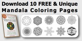 Download 10 Free Mandala Coloring Pages