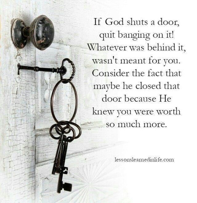 Stop knocking