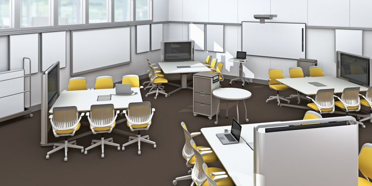 How Steelcase Redesigned The 21st Century College Classroom With
