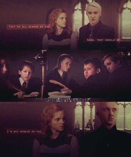 I M Not Afraid Of You Harry Potter Fanfiction Harry Potter Draco Malfoy Draco Harry Potter