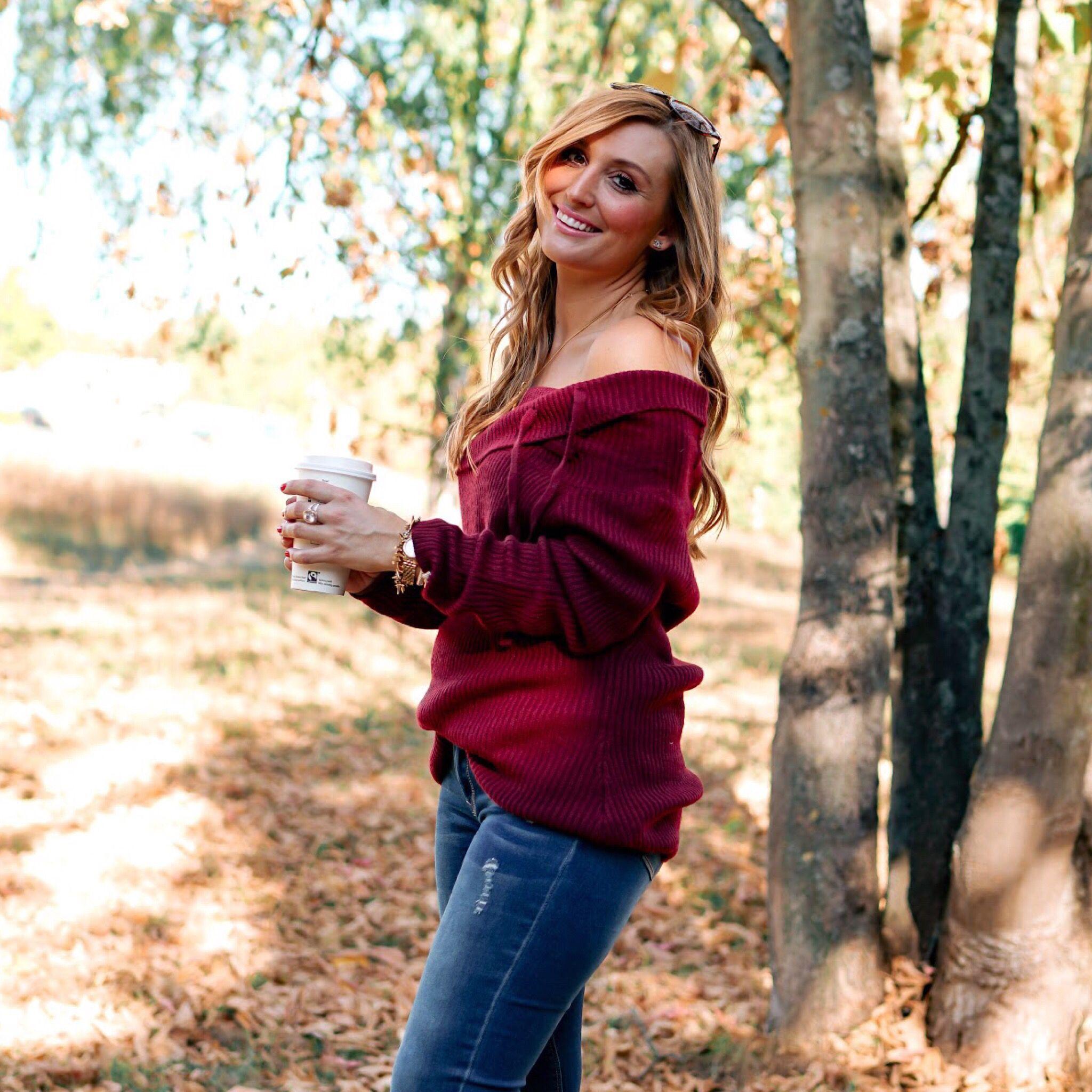 Im Herbst Ist Diese Farbe Eine Meiner Liebsten Bordeaux Rot Passt