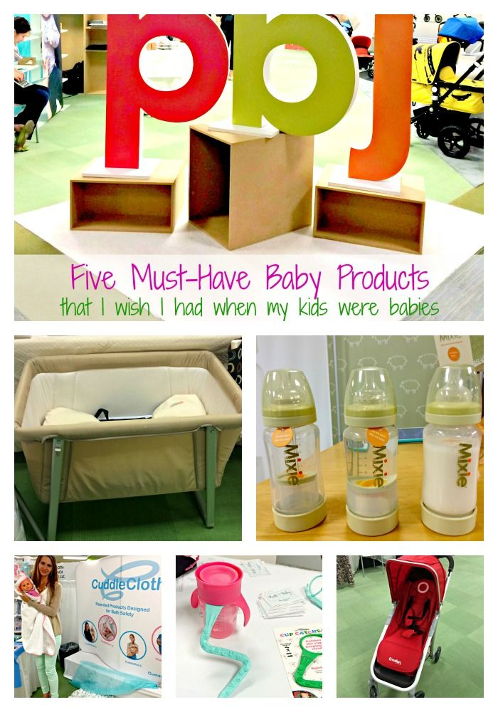 Five Must-Have Baby Products (that I wish I had when my kids were babies) {Giveaway}  MamaChallenge.com