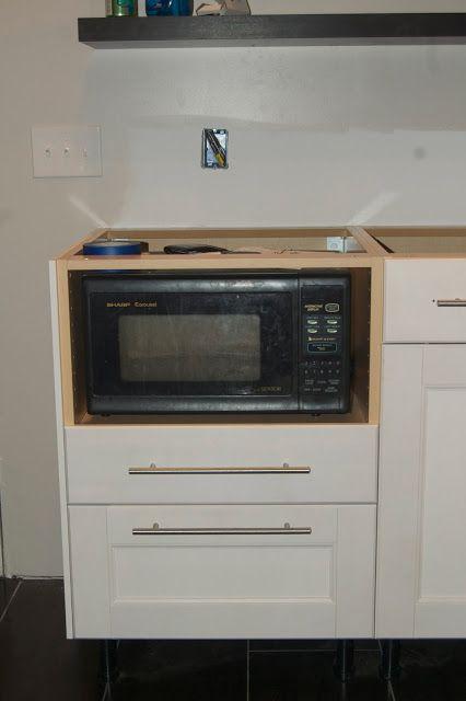Below The Microwave