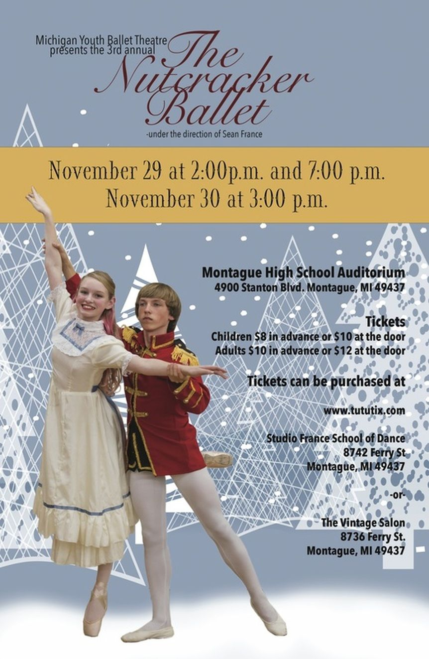 The Nutcracker Ballet by Michigan Youth Ballet Theatre
