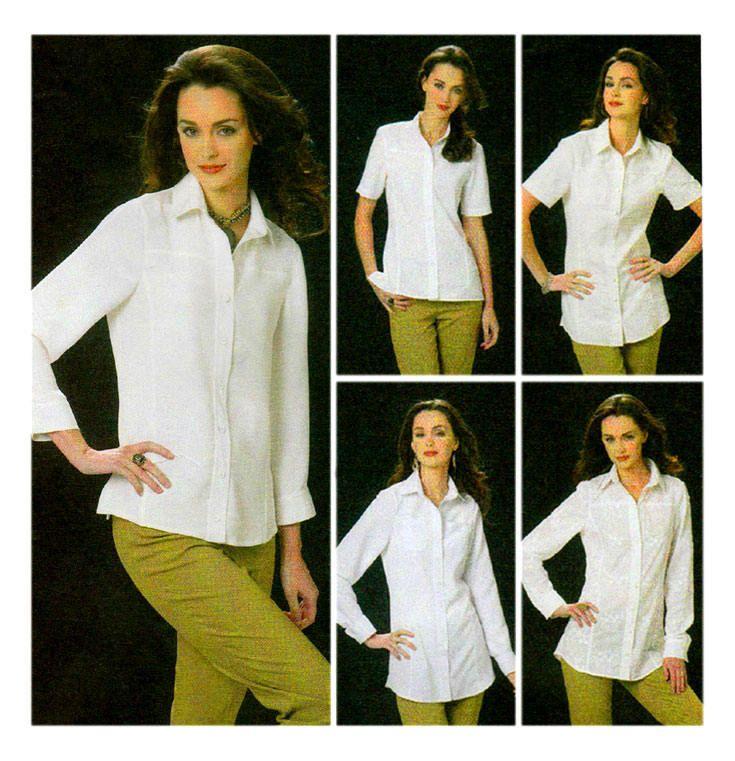 James /& Erin Womens Pocket Pleated Shirt