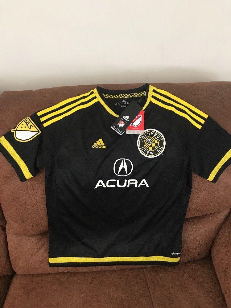 Adidas Columbus Crew Sc Mls Soccer Jersey NWT Size L Youth  d732d1ec6