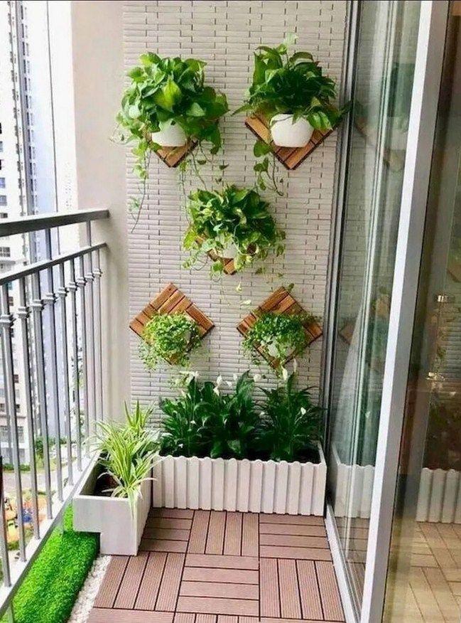 10 Budget Diy Home Decor Ideas For Your Small Apartment Small Balcony Garden House Plants Decor Apartment Balcony Garden