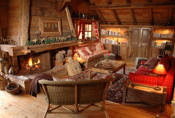 Nice idea! Chalets Bayrou | Shopping for mountain cottage ...