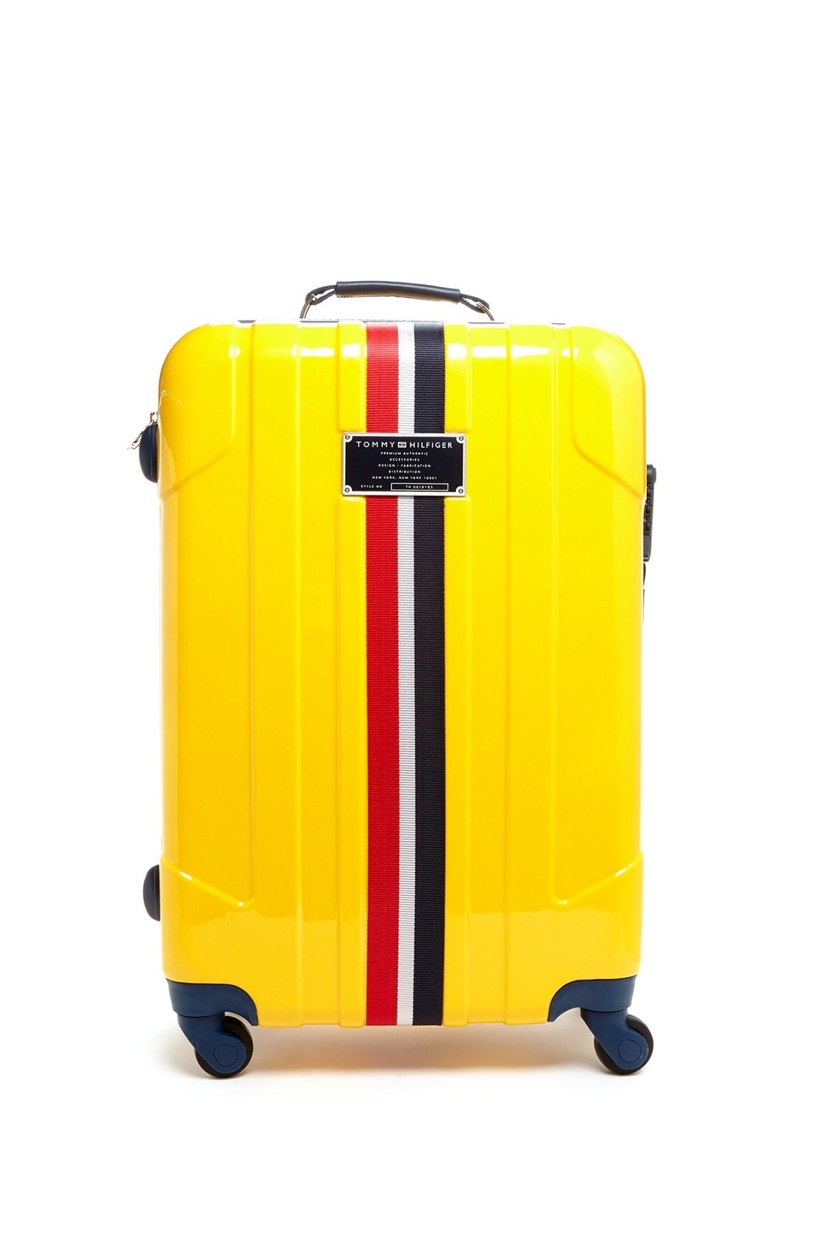 1928fdf50a bright and yellow Tommy Hilfiger Luggage, 80s Womens Fashion, Travel Luggage,  Travel Bags