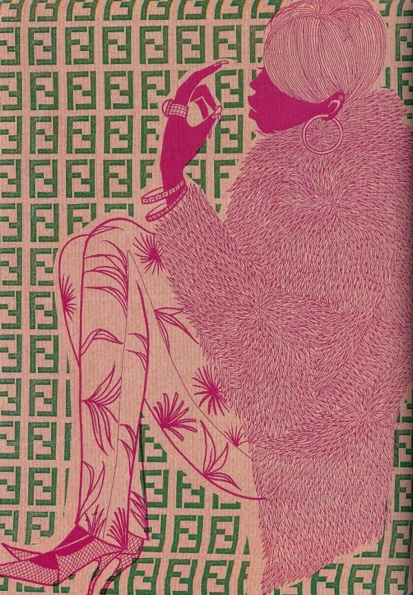 Fashion Illustrations by Hiroshi Tanabe