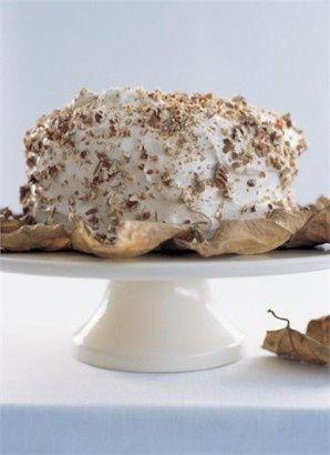 Autumnal Birthday Cake by Nigela Lawson