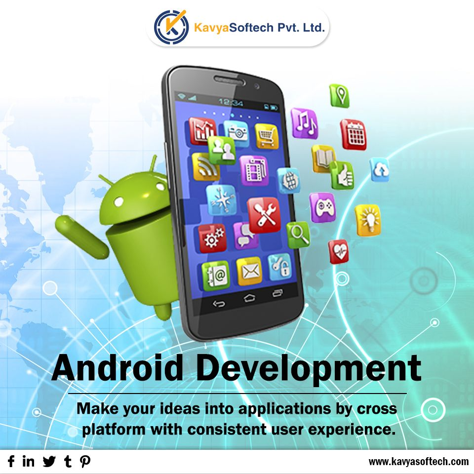 We are a leading Android app development company with a