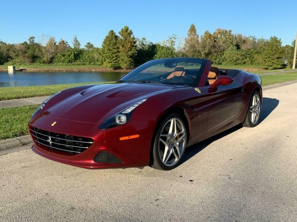 2016 Ferrari California T Red Ferrari California T With