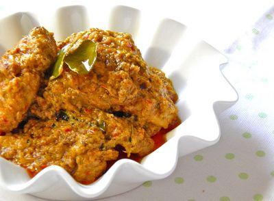 Chicken Rendang Minang Or Rendang Ayam Minang Recipe Vegetarian