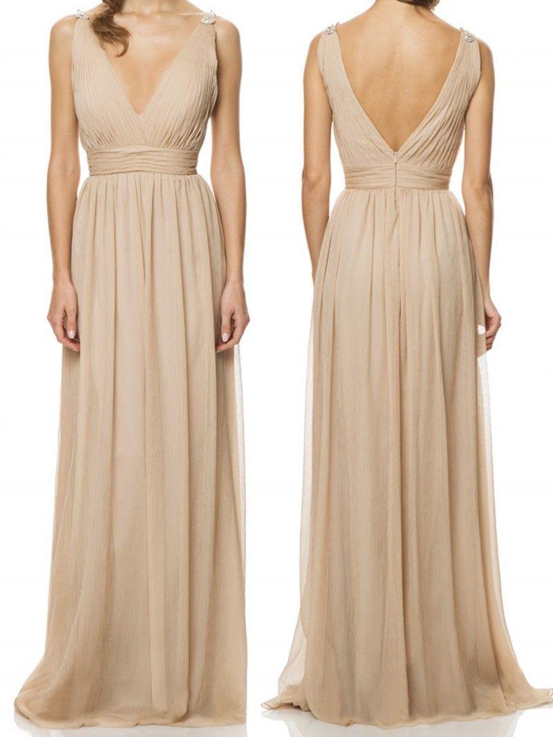 Chiffon bridesmaid dresslong bridesmaid dresscheap bridesmaid