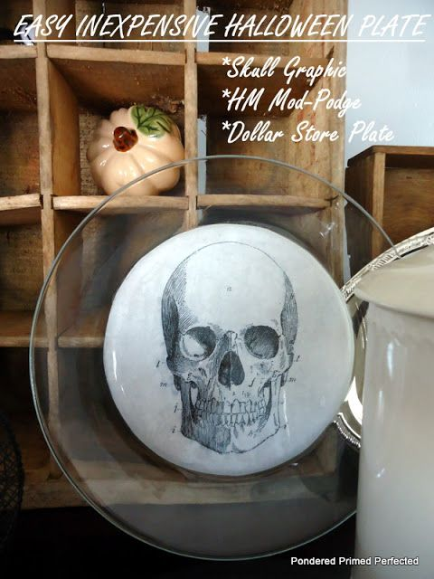 Pondered Primed Perfected Halloween Decorating ~ Easy Inexpensive