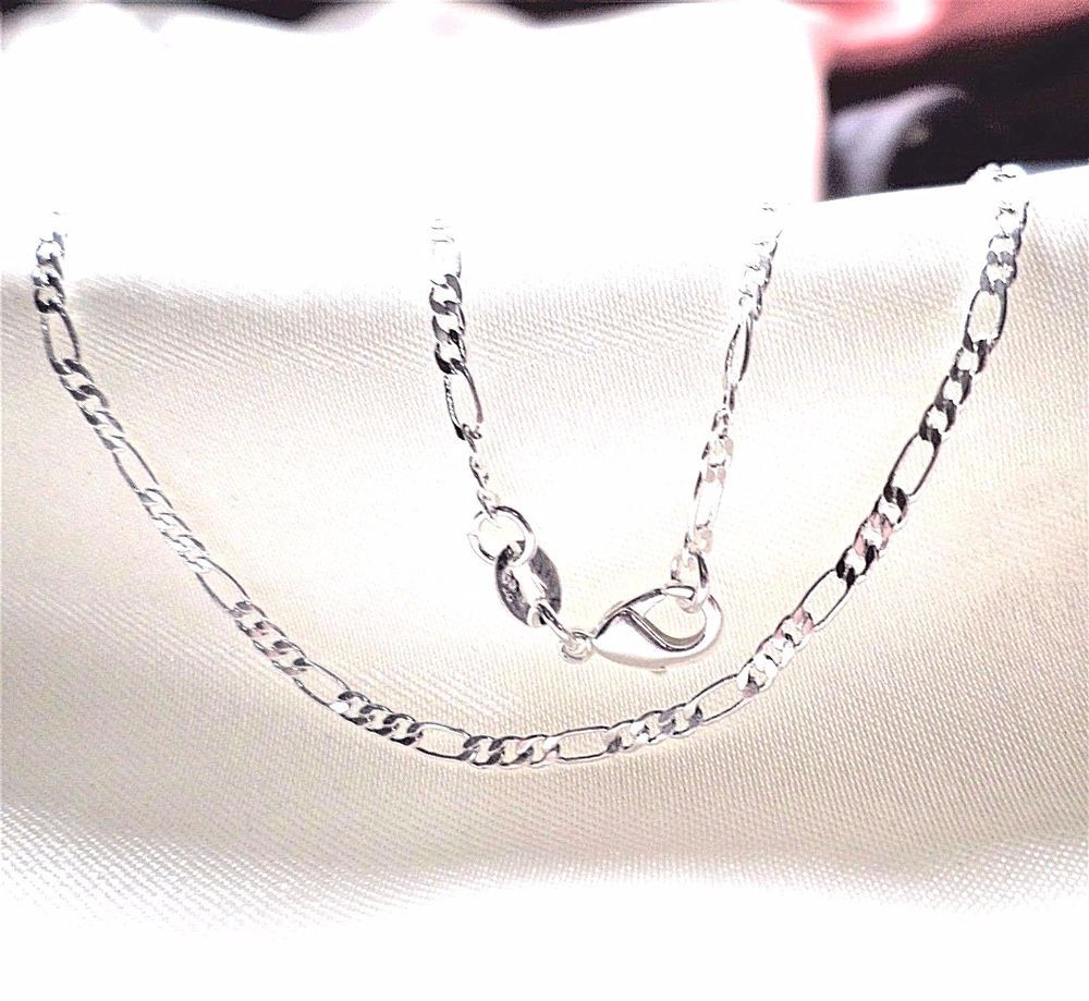 Sterling Silver Italian Spiga Wheat Rope Chain Necklace,Bracelet 2mm 3mm 2.5mm