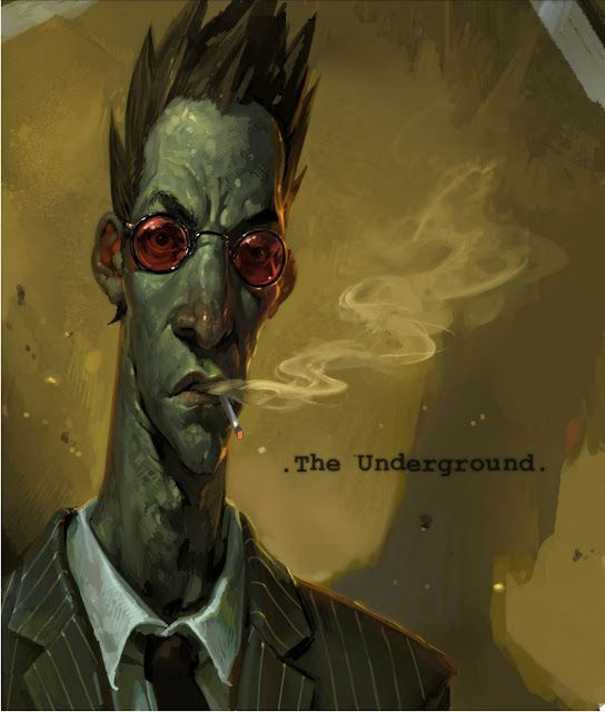 The Art of LD Austin: The Underground