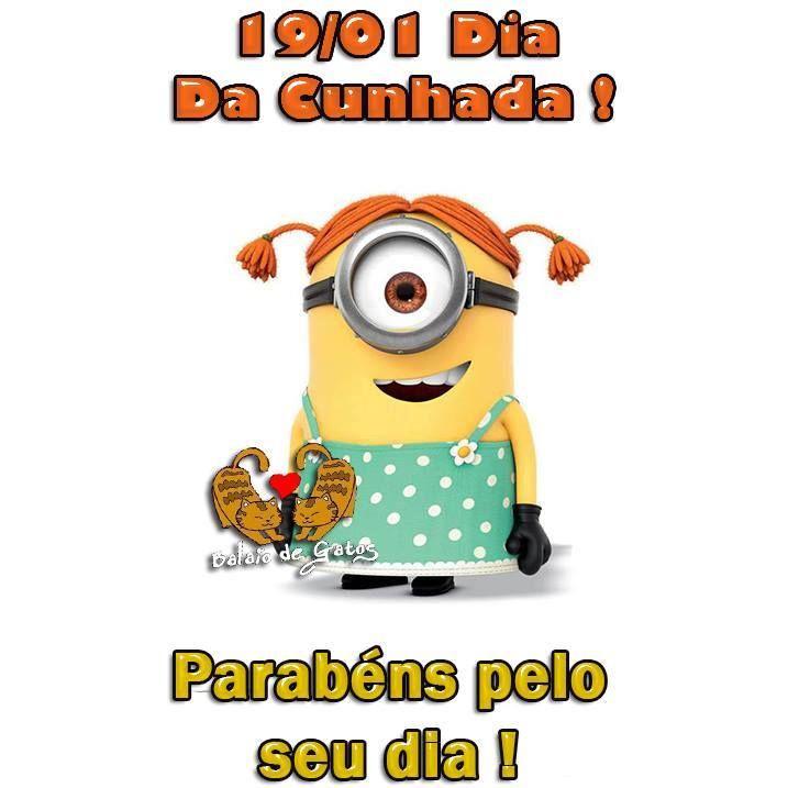 19 De Janeiro Frase Dia Da Cunhada Birthday Images Pinterest
