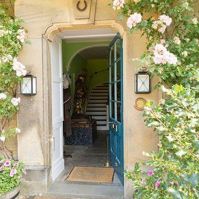 Debou0027s Door - Deborah Duchess of Devonshire the doorway to the Old Vicarage is & Debou0027s Door   Doors English interior and Cottage interiors