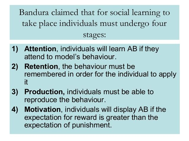 Image result for bandura social learning theory psychotherapy image result for bandura social learning theory fandeluxe Gallery